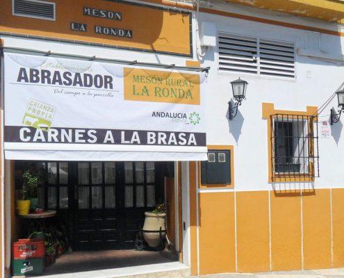 Scorching entrance photo La Ronda in Carcabuey, Córdoba