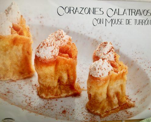 Calatravos dessert Hearts
