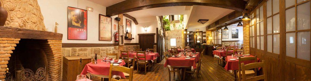 Comedor restaurante Abrasador Almagro