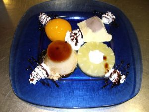 Homemade desserts, one dish innegobiable customers
