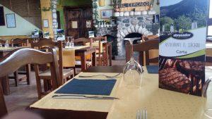 Restaurante Abrasador El Cercado situado en Bérchules (Granada)