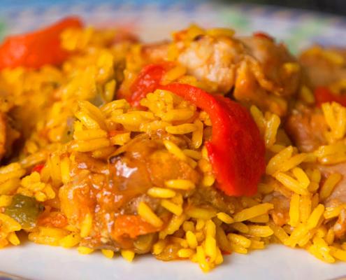 Rice With Rabbit