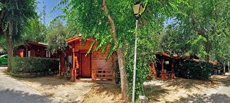 One of the properties located in the camping Las Lomas, next to the restaurant scorching Las Lomas in Guejar Sierra