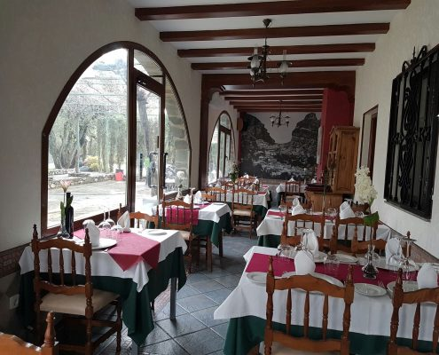 Dining room of one of the dining rooms Scorching Las Lomas