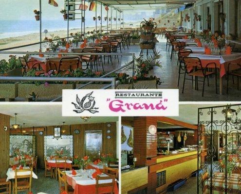Inicios de Restaurante Graná situado en El Campello en la playa de Muchavista en Alicante