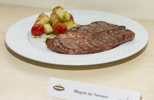 Magret de ternera de Abrasador Restaurante Las Batanes