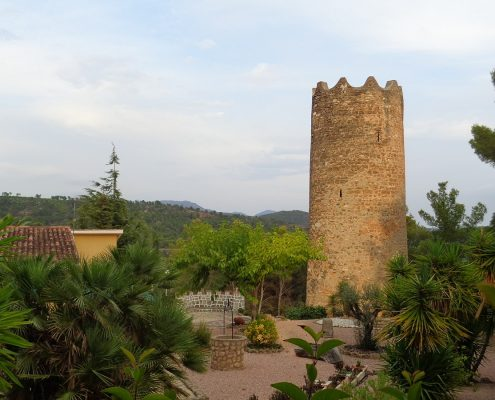Torre árabe de Altomira en Navajas