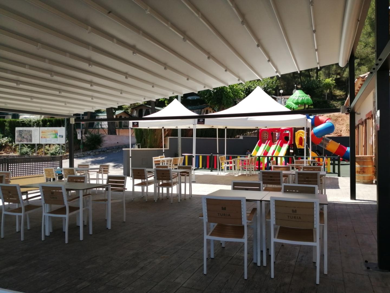 Terraza parque infantil