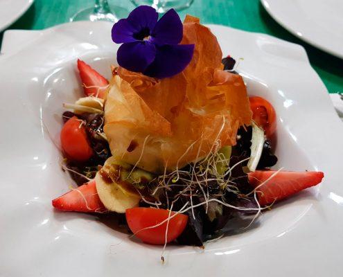 Ensalada restaurante Abrasadoor La Carreta