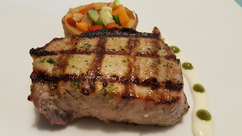 Iberian pork loin