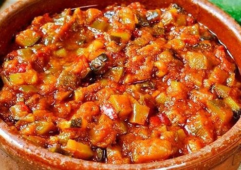 manchego ratatouille dish without eggs