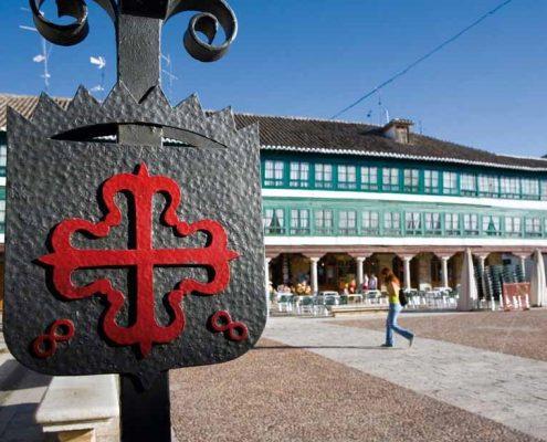 Símbolo Orden de Calatrava en Almagro
