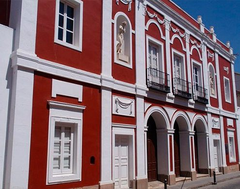 Municipal Theater very near Scorching de Almagro