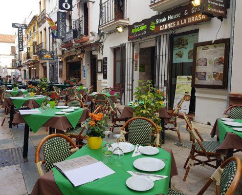 Scorching La Carreta restaurant Ronda