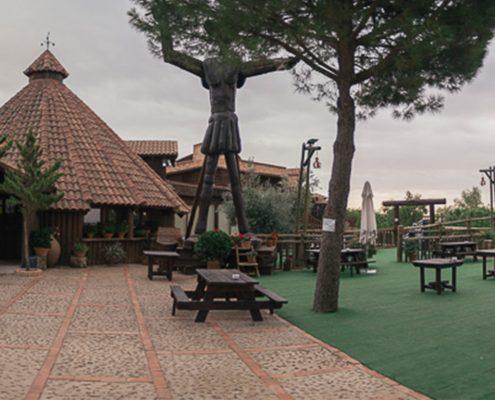 Scorching restaurant Mirador de la Mancha