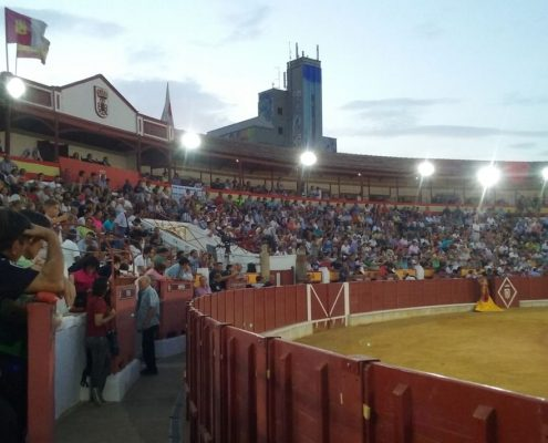 bullring during the fair of Almagro in Ciudad Real