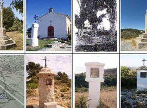 los cruces y pilones de la localidad Altura