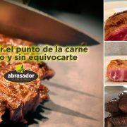 el punto de la carne