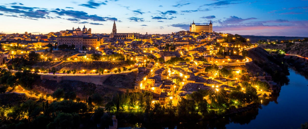 Toledo becomes night