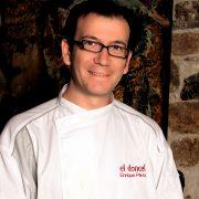 Chef Enrique Pérez jurado IV Concurso de recetas Abrasador
