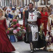 foto de las fiestas de moros y cristiano en El Campello (Alicante)