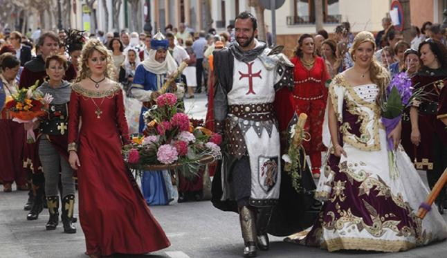photo of the Moors and Christians in El Campello (Alicante)