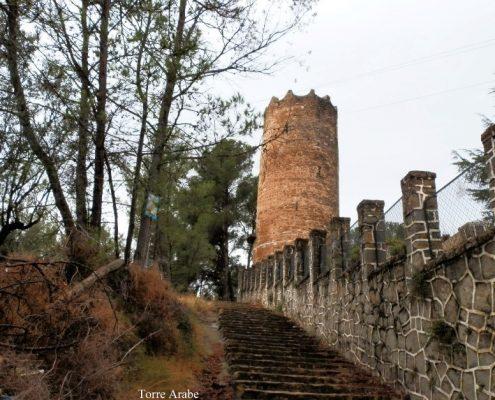 Torre Árabe del S XIX situada en la ruta de la via verde ojos negros