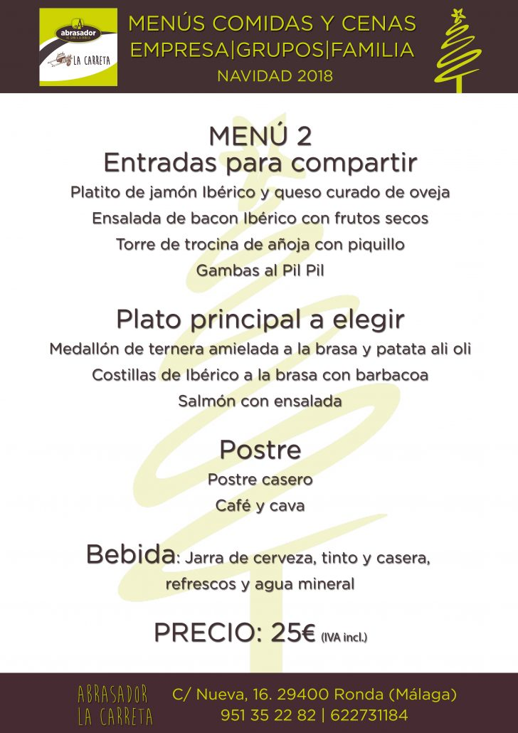 Menu-2 - group-Christmas-2018-Abrasador-La-Carreta