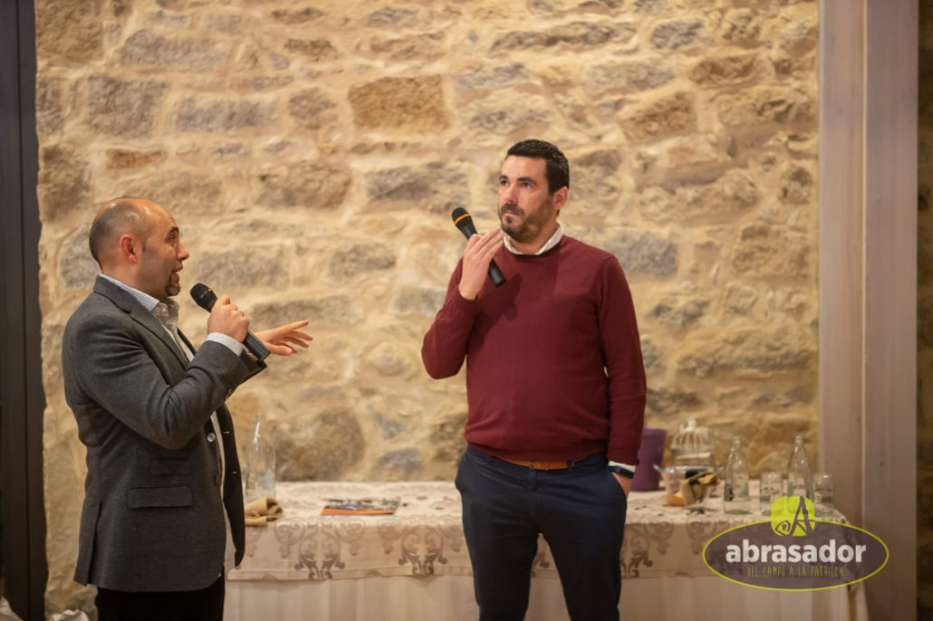 Julio Ramirez and Jorge Martín answering questions at Fiesta Abrasador 2018
