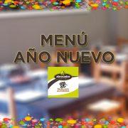 Menú año nuevo restaurante Abrasador Altomira en Navajas