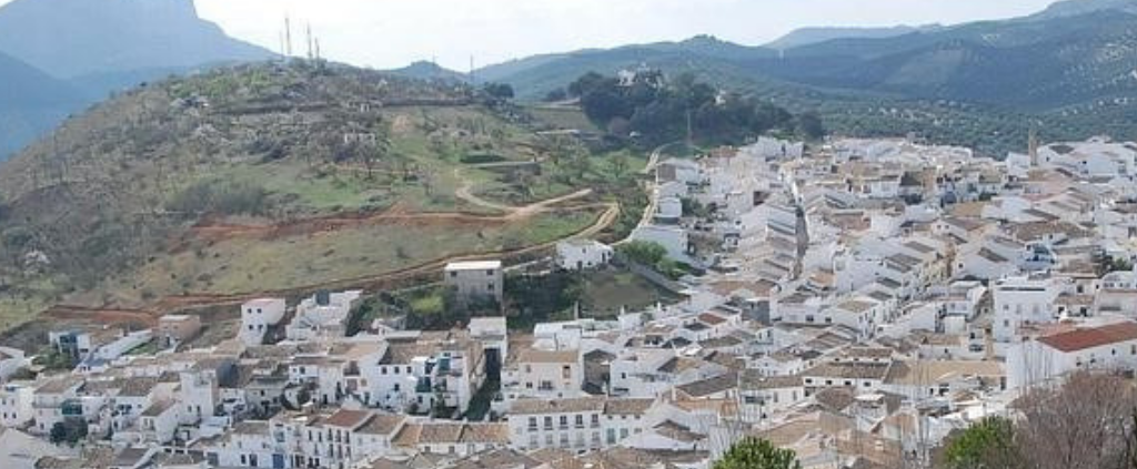 Carcabuey, subbética mountain stronghold located in Córdoba (Andalusia)