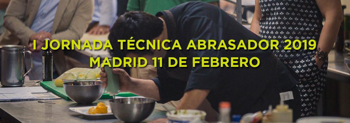 Primera jornada técnica Abrasador 2019