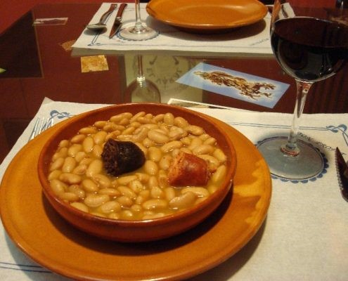 plato tradicional de meson abrasador la ronda