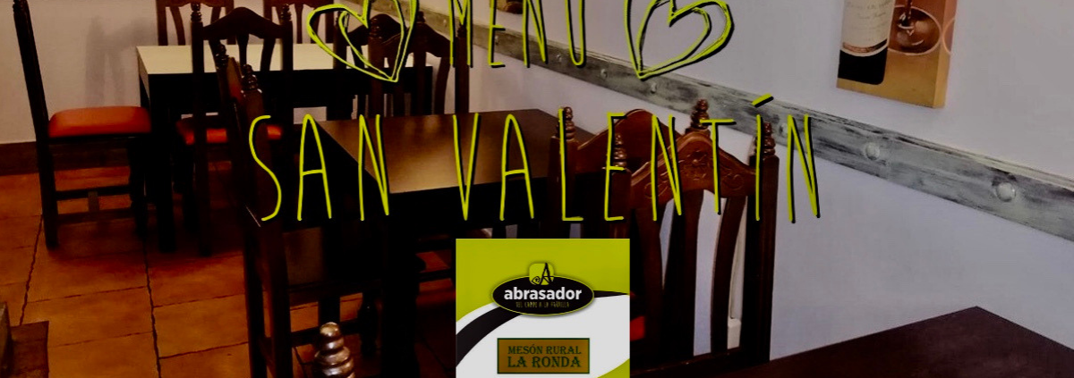 Valentine menu 2019 Scorching Meson La Ronda
