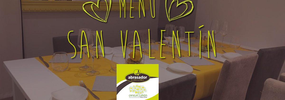 Valentine special menu Consuegra