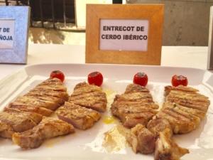 Iberian pork sirloin.