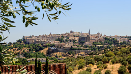 Toledo view from the cigarrales