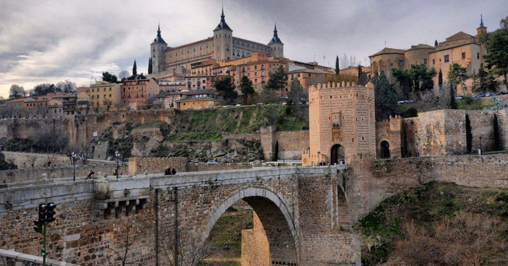 Toledo y el puente de Alcántara