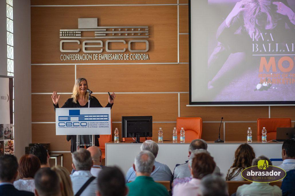 Eva Ballarín ponente en II Jornada técnica Abrasador