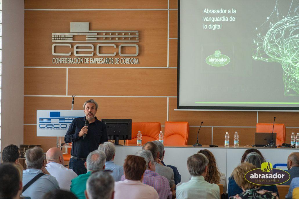 Diego Coquillat ponente de la II Jornada técnica abrasador 2019