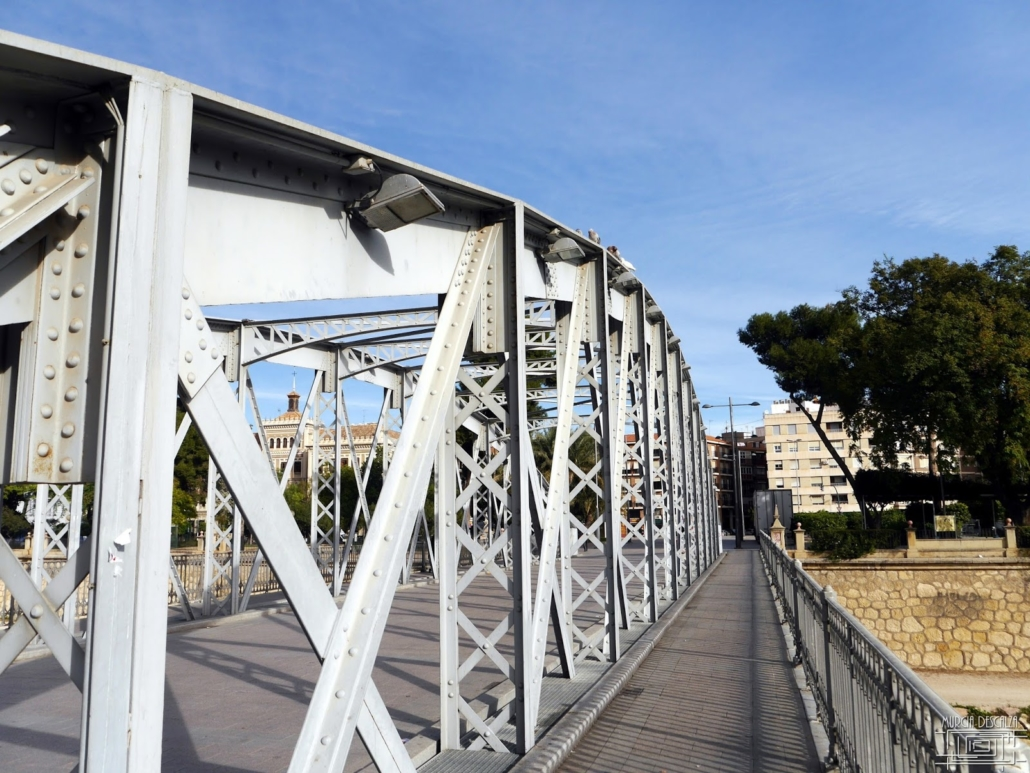 Iron Bridge was the second bridge built in Murcia