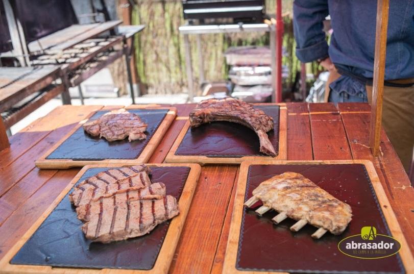Cortes de carne a la brasa Abrasador