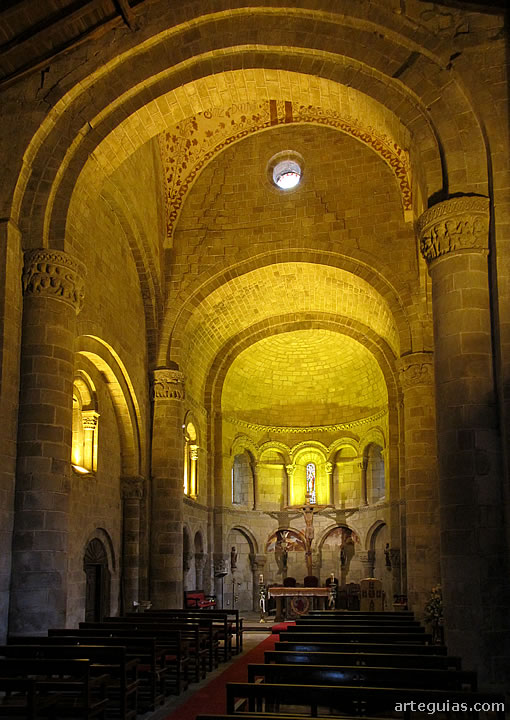 Romanesque collegiate church of San Martin de Elines