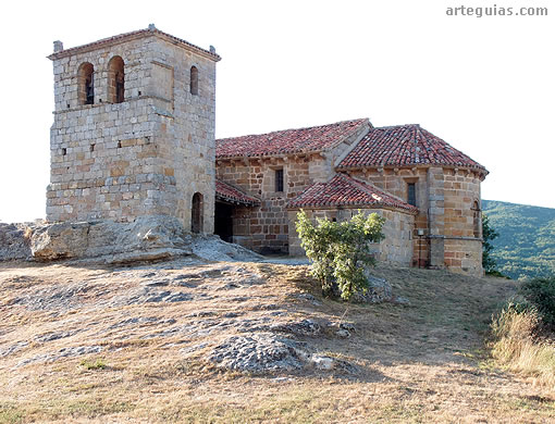 Romanesque church of Santa Leocadia of Castrillo de Valdelomar