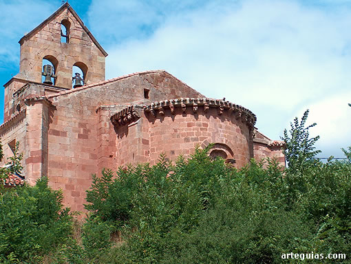 Romanesque church of San Juan Bautista de Villanueva de la Nía