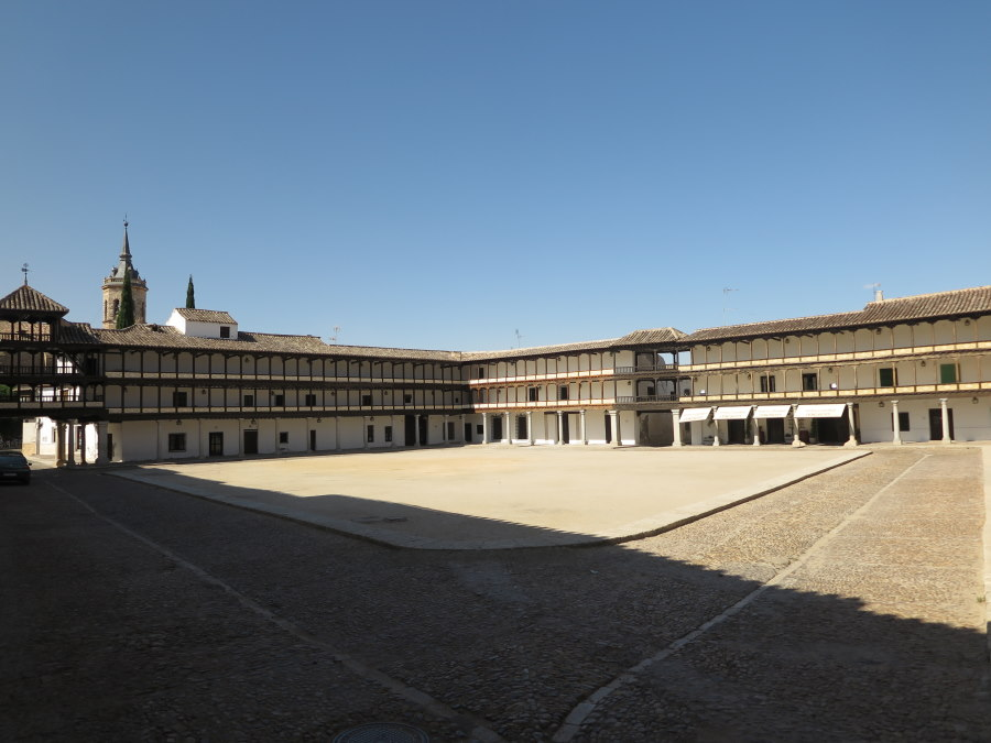 Plaza Mayor Tembleque