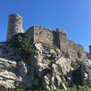 Vista general del Castillo Medieval de Carcabuey