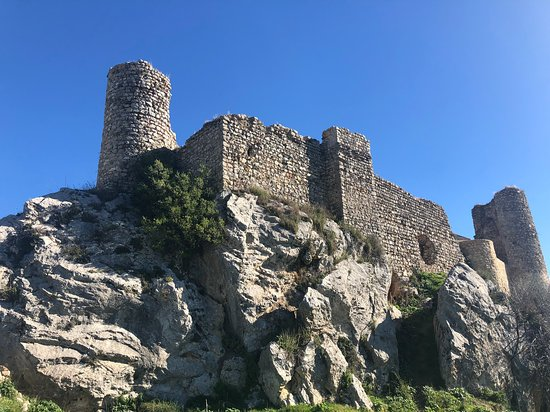 Overview of Medieval Castle Carcabuey