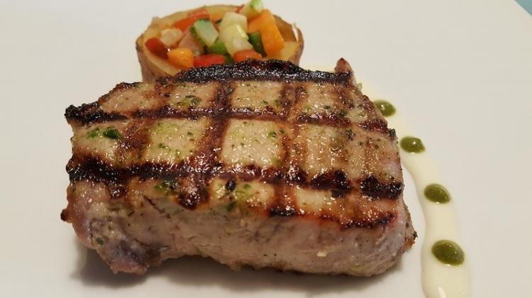 Tornedo Iberian tenderloin grilled