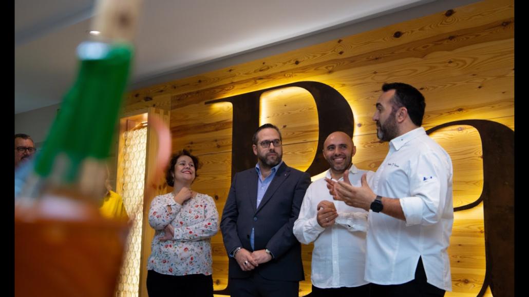 Dueños de Insula Barataria, Julio Ramirez y Carlos Torres chef